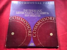 A1-46 THE COMMODRE YEARS The Tenor Sax:  .... DOUBLE ALBUM ..... SD 2-307