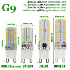 Dimmable LED Corn Bulb G9 6W 8W 9W 10W 2835 3014 SMD Light Replace Halogen Lamp