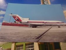 Air Malta Boeing 727-173C {N692WA} seen at Heathrow Airport 6/76 unused postcard