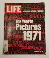 Life Magazine December 31 1971 The Year in Pictures Special Double Issue