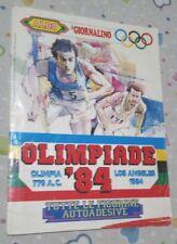 ALBUM FIGURINE OLIMPIADI LOS ANGELES '84 - IL GIORNALINO - COMPLETO RARO !