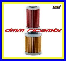 Kit 2 Filtri Olio motore 4T ISON 155 157 KTM 250 400 450 = HIFLO HF155 HF157