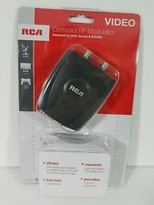 RCA/Audiovox CRF907A CRF907 RF Modulator Converts AV from Games/ DVD to Ch 3 / 4