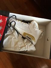 Nike Air Jordan gold moment Retro 6 DS SIZE 12.5 (rare Size)
