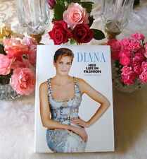 Princess Diana Her Life in Fashion Hardcover Book full of photographs