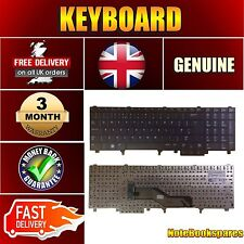 For E6540 DELL LATITUDE Laptop Keyboard No Backlight No Trackpoint UK Black