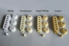 Strat Knobs,Strat Pickup Covers,and Tip,White Set,NEW!