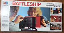 Original Battleships Vintage Classic MB Milton Bradley Game 1975 Complete Boxed