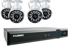 LOREX LH03081TC4W Wireless Security Surveillance System DVR (Black) 4 Camera
