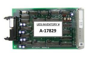 Hitachi RS06-2 PCB Card M-511E Microwave Plasma Etching System Working Surplus