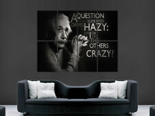 ALBERT EINSTEIN POSTER QUOTE  ART GIANT WALL PICTURE PRINT LARGE