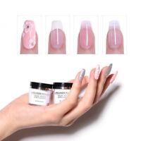 Pink White Clear Acrylic Powder Tip Extension Nail Polymer Powder BORN PRETTY