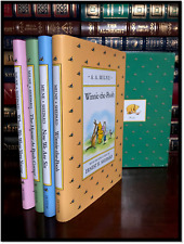 Winnie the Pooh Library by AA Milne New Sealed Hardcover 4 Volume Box Gift Set