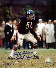 "Dick Butkus Chicago Bears Signed Photo with Special ""Happy Holidays"" Inscription"