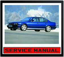 BMW 5 Series E34 525i 530i 535i 540i 1989-1995 SERVICE REPAIR MANUAL IN DVD