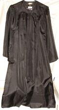 Graduation Gown ~ Good for Choir/Pulpit/Halloween Costumes ~ Black 5'2 - 5'4