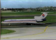 (wjr) Airplane Postcard: Holiday Air, TU-154M