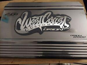 Orion HCCA 2400 Watt max Amplifier