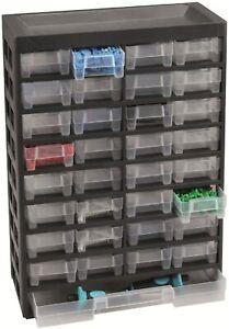 Allit Do-it Varioplus Hobby 33 Drawer Small Part Storage Cabinet