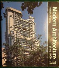 Modern Architecture Since 1900 By William J R Curtis Sencond Edition 1987