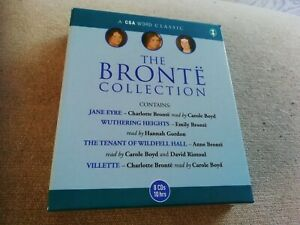 The Bronte Emily Charlotte Anne Classic Collection 8x CDs 10 Hours 4 Novels
