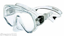 Atomic Frameless UltraClear Dive Mask, FreeDiving Scuba Snorkeling Meduim Clear