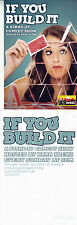 KARA KLENK COMEDY SHOW IF YOU BUILD IT ADVERTISING COLOUR POSTCARD
