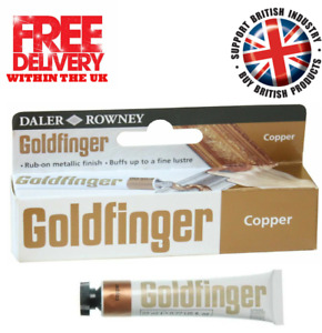 Daler Rowney Goldfinger Metallic Rub-On Paste Picture Frames  - Copper - 22ml