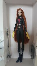 Action Doll Captain Harlock Queen Emeraldas marmit doll(Rare)