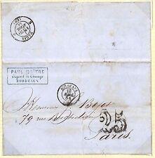 H63 1834 1838 France Bordeaux Paris Cover {samwells-covers}PTS
