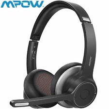 Mpow HC5 Bluetooth Kopfhörer Wireless Headset mit Mikrofon für Handy Computer