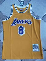 NWT Men's Los Angeles Lakers Kobe Bryant Authentic Mitchell & Ness Throwback M