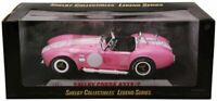 1965 Shelby Cobra 427 S/C Pink Shelby Collectibles 1:18 Diecast