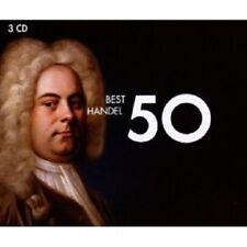 50 Best Haendel 3 CD NEUF KLASSIK
