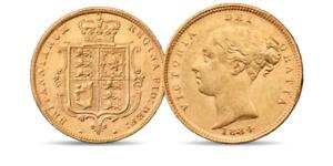 Queen Victoria Gold Half Sovereign 1834