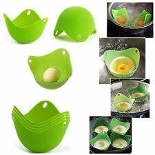 1PC Silicone Egg Poacher Poaching Pods Pan Poached Cups Mould Kitchen Cookare