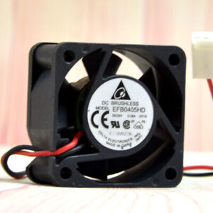 1pc Delta EFB0405HD 4020 4CM 5V 0.38A Double Ball Switch Server Cooling Fan