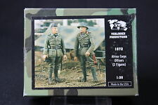 ZA668 VERLINDEN PRODUCTIONS AFRICA CORPS OFFICERS 2 figures WWII Rf 1672 1/35 NB