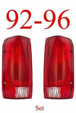 92 96 Ford Tail Light Set, Assemblies, F150, F250, 97 & 98 F350, Truck, Bronco