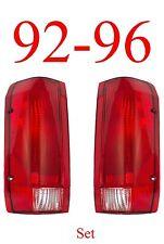 92 96 Ford Tail Light Set, Assemblies, F150, F250, 97 & 98 F350, Truck, Bronco