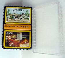 VINTAGE LAS VEGAS DUNES & ARIZONA ROADRUNNER MINI PLAYING CARDS SEALED WITH CASE
