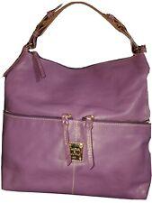 Dooney & Bourke Purple Leather Bag  Shoulder Handbag Purse