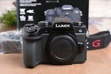 Panasonic Lumix DC-G95 Mirrorless Digital Camera Body w/Strap/Charger/Box