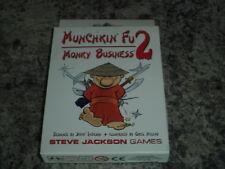 Munchkin Fu 2 Monky Business - Steve Jackson Games Card Board Game New!