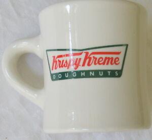 Vintage 8 Oz. Krispy Kreme Doughnuts Heavy Ceramic Coffee Mug Cup MB1