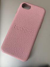 Customised Genuine Leather iphone 7 case - Pink