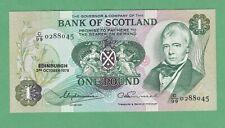 Scotland 1 Pound Note  P-111c  UNCIRCULATED