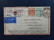 More details for 1931 australia - gb first all the way flight cover