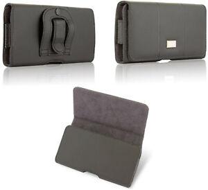 Quertasche Gürtel Tasche Belt Case Cover f. Samsung Galaxy Etui Schutz Hülle