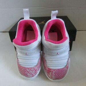 Jordan 11 Retro Little Flex TD 7c Toddler Athletic Ortholite Casual Shoes